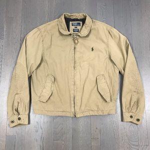 Polo Ralph Lauren Khaki Chino Utility Jacket Coat